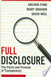 Cover of full disclosure