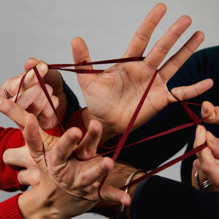 Photo of hands of Alessia Tanas