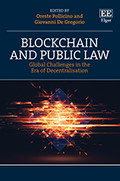 Cover of the book Blockchain and public law