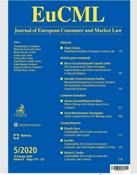 picture of EUCML Journal